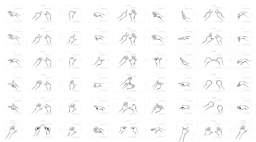 3D Motion Gesture Index [GestureML Wiki]